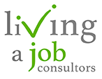 Living a Job Sticky Logo