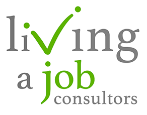 Living a Job Sticky Logo Retina